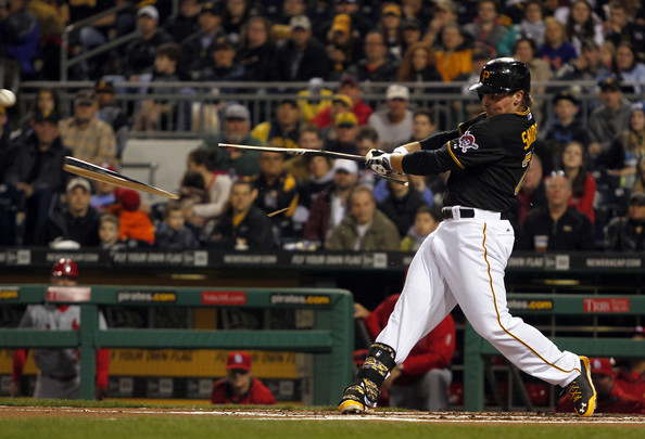 Travis Snider p/c: Justin K. Aller/Getty Images North America